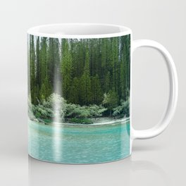 In the wilderness - Natural lagoon at Isle of Pines, New Caledonia Coffee Mug