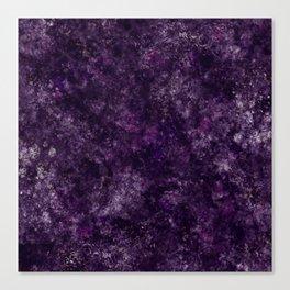 Purple Garden Canvas Print