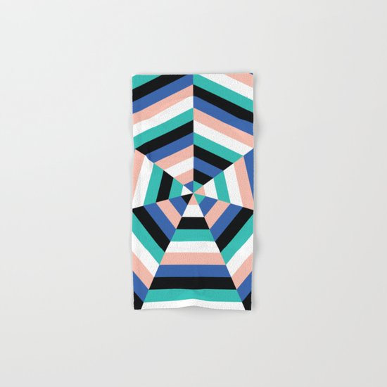 Heptagon Quilt 3 Hand & Bath Towel