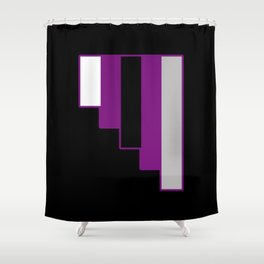 Demisexual Shower Curtain