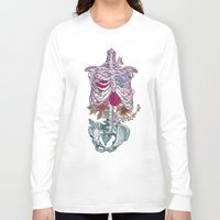 la Long Sleeve T-shirts featuring La Vita Nuova (The New Life) by Rachel Caldwell