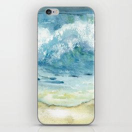 Ocean Waves Solana Beach iPhone Skin