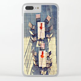 The World Below Me Clear iPhone Case