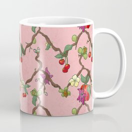 Cherries and Vine Coffee Mug