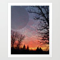 neverland Art Prints featuring Neverland by Olivia Joy StClaire