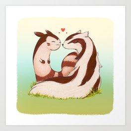 Normal Love Art Print
