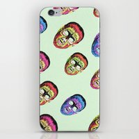 thrones iPhone & iPod Skins featuring Gods and monsters by Laura Nadeszhda