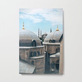 Welcome to Istanbul Metal Print