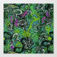 key Canvas Prints featuring Key by Emma Stein