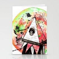 sandman Stationery Cards featuring Sandman by Logan David