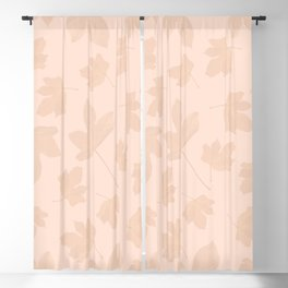 Exotic leaves pattern 27 Blackout Curtain
