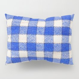 Gingham / vichy Pattern -strips,fashion,squares,french,vichy, gingham,bistrot,textiles,indie Pillow Sham