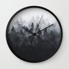 The Heart Of My Heart // Midwinter Edit Wall Clock