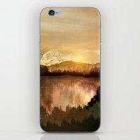 sunrise iPhone & iPod Skins featuring Sunrise by Viviana Gonzalez