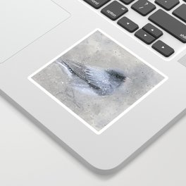 Dark Eyed Junco Bird Sticker
