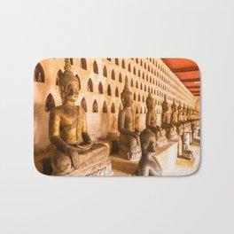 Wat Si Saket Buddhas I, Vientiane, Laos Bath Mat