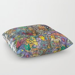 Kaiju Crew Floor Pillow