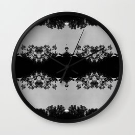 Lace Forest  Wall Clock