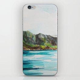Napali Coast Dreaming iPhone Skin