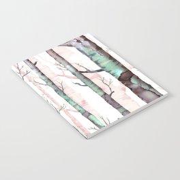 Birch Tree Forest Notebook