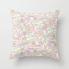 The Sweet Forest Pattern Throw Pillow