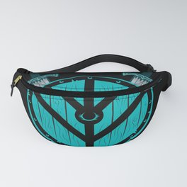 Viking Shield Maiden Badass Woman Warrior Fanny Pack