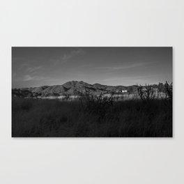 Gold Mine Road Canvas Print