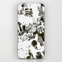 the who iPhone & iPod Skins featuring Who by Eternal