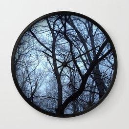 Winter Gloom Wall Clock