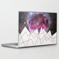 outer space Laptop & iPad Skins featuring Outer Space by FlurinaJT
