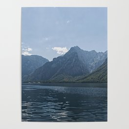 Bavaria - Koenigssee Lake Summer Alps Poster