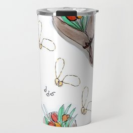 Galentine's Day Pattern Travel Mug