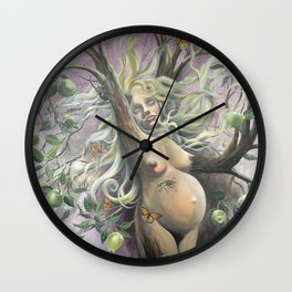 Mother Earth - Gaia Wall Clock