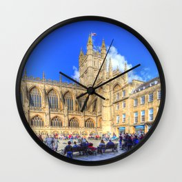 Bath Abbey Wall Clock