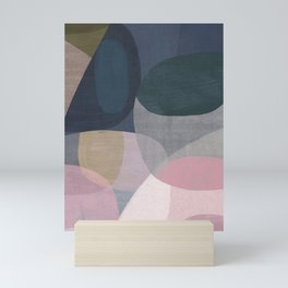 Abstract Shapes 79 Mini Art Print