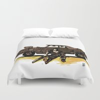 mad max Duvet Covers featuring MAD MAX by Gregory Casares