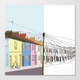 Urban Renewal Canvas Print