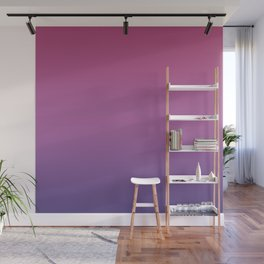 Ombre Ultra Violet Purple Maroon Lilac Gradient Pattern Wall Mural