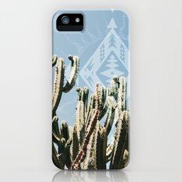 Cactus Talk iPhone Case