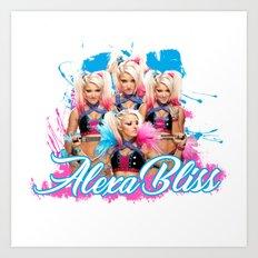 Alexa Bliss Art Print