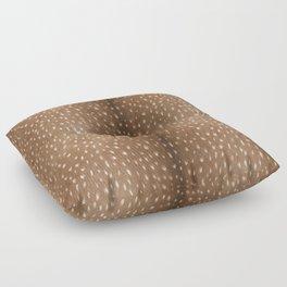 Deer Hide Floor Pillow