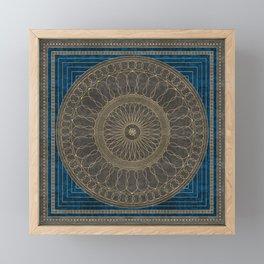 Filigrane 1 Framed Mini Art Print