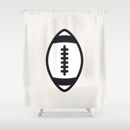 Rugby - Balls Serie Shower Curtain