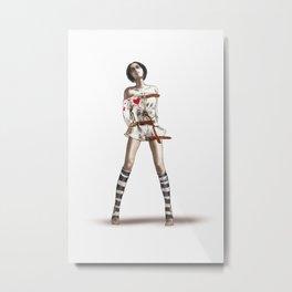 fashion culprit Metal Print