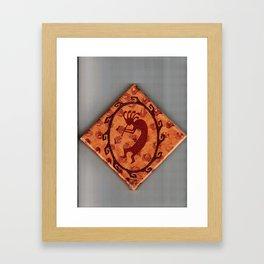 Kokopelli 2 Framed Art Print