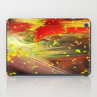 camus iPad Cases featuring Fall In Love by Geni