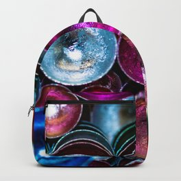 Coloured Metal Coated Cups Backpack