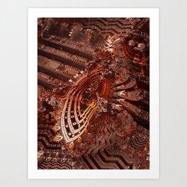 Vanadinite Art Print