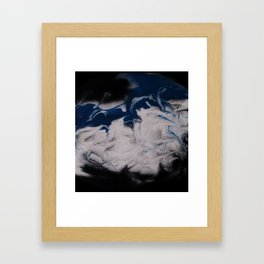 The Blue Wave Framed Art Print