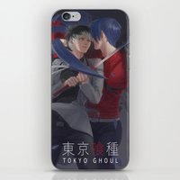 tokyo ghoul iPhone & iPod Skins featuring TOKYO GHOUL by Kossoribl